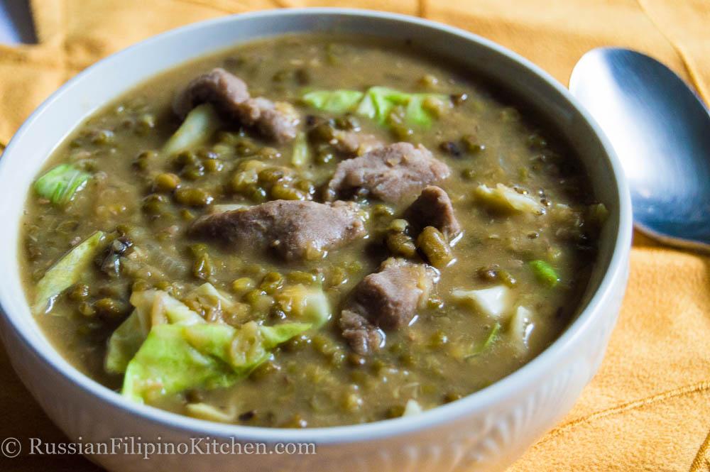 Sautéed Mung Beans With Pork (Ginisang Munggos Na May Baboy)