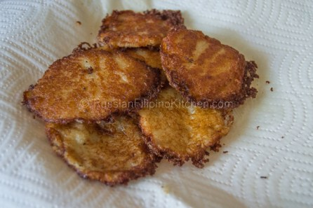 Draniki – Russian Potato Pancakes 11