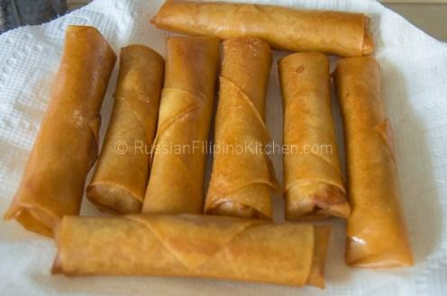 Easy Lumpia Shanghai (Filipino Meat-Filled Egg Rolls) 25