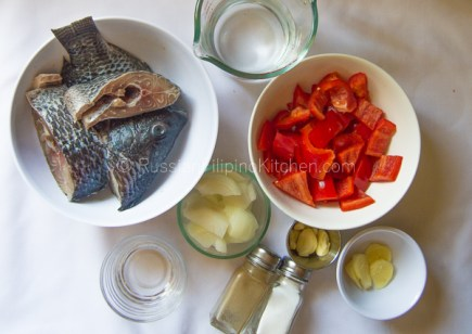 Paksiw na Tilapia (Fish Simmered in Vinegar and Spices) 02