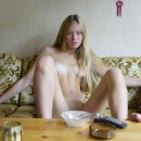 Very beautiful russian skinny blonde girl