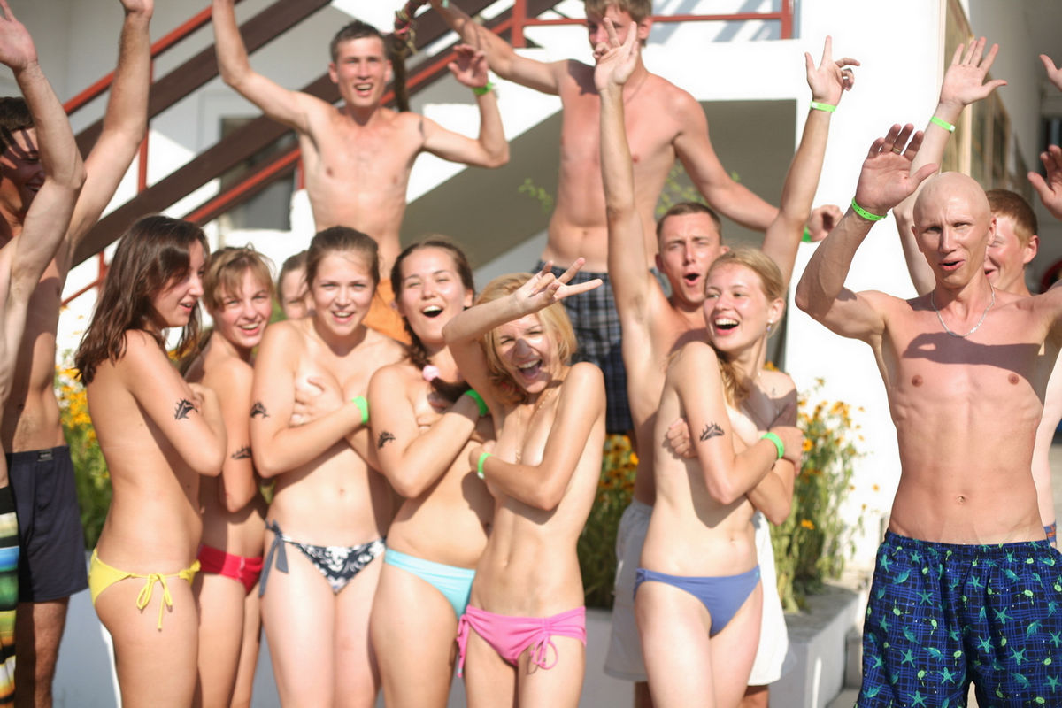 fair skin nude college girls