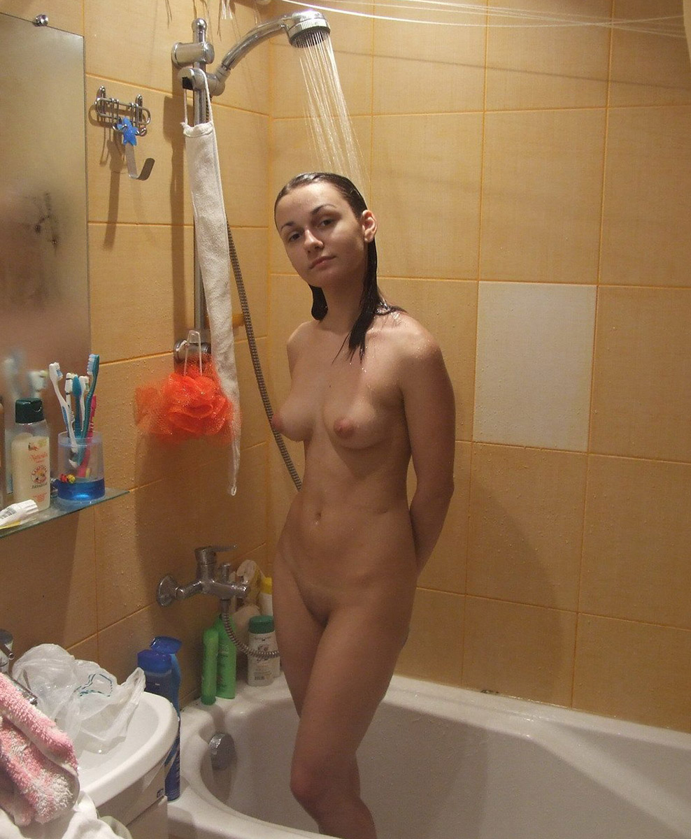 Hot girls in the bathroom shower all