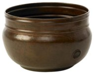Liberty Garden Products 1901 Rustic Garden Hose Pot – Rustic