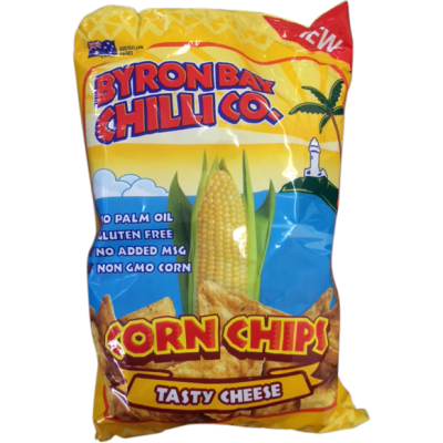 Byron Bay Tasty Cheese Corn Chips 175gm