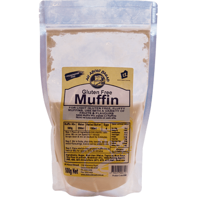 All About Bread Gluten Free Muffin Mix 500g
