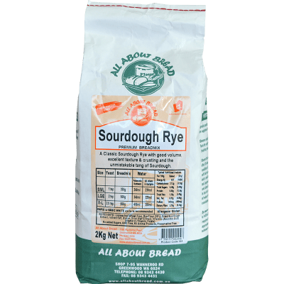 All About Bread Sourdough Rye Breadmix 2kg