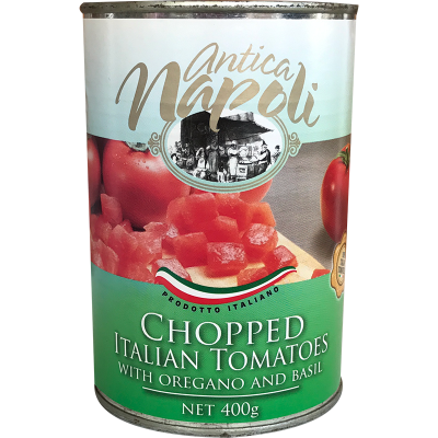 Antica Napoli Chopped Tomatoes with Oregano and Basil