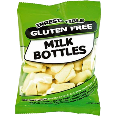 Irresistible Gluten Free Milk Bottles 160g