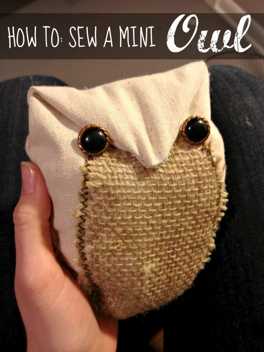 How To: Sew a Mini Stuffed Owl