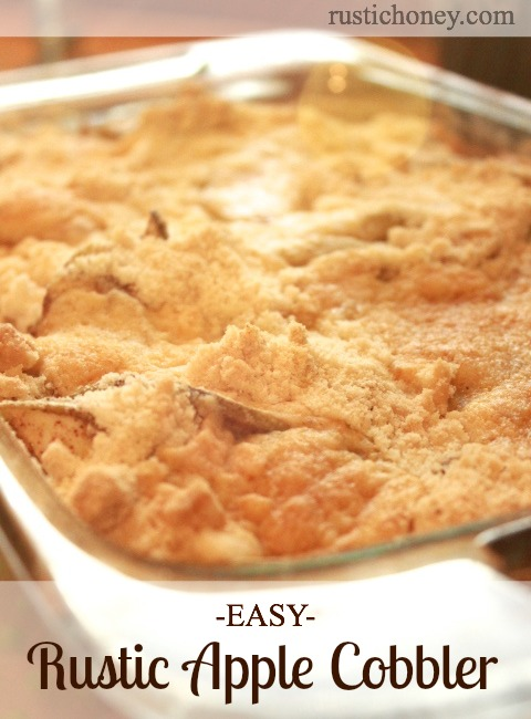 Easy Apple Cobbler With White Cake Mix