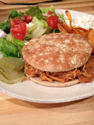 how to make cooked shredded chicken
