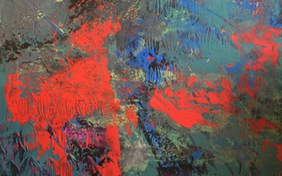 Holiday – Oil and Wax Abstract