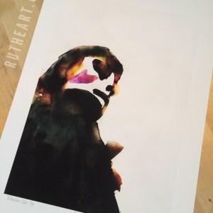 Mindscape #2 - by R.T.Brokstad - Watercolour DGA