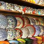 Colorful Ceramics From Spice Bazaar,Istanbul,Turkey