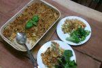 squash and leek macaroni cheese