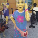 kid made from lego in legoland florida