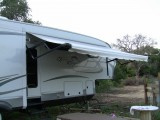 rv awning extended