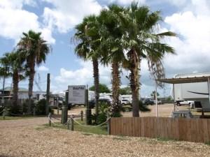 Gulf RV Park Entrance Port O'Connor Texas