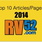 10 Most Popular RV Articles in 2014 on RV52.com