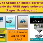 How to create an ebook cover on Mac without any graphical software