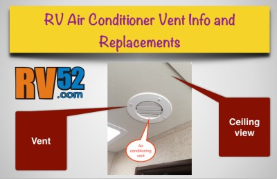 rv air conditioner vent info and replacements