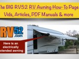 rv awning how to information repair and replacement