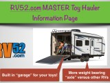 toy hauler rv master information page for rvers