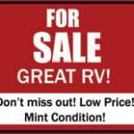 RV Buying Tips