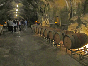 Beringer winery tour