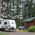 Campground Cabins are Perfect for Guests