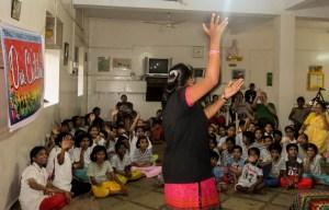 Kavita Performing