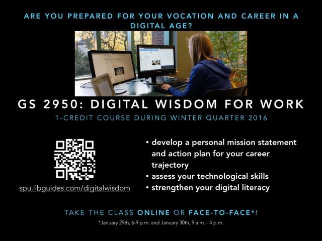 Digital Wisdom for Work Poster 4x3
