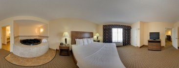 Presidential Suite at the Barboursville, West Virginia Holiday Inn