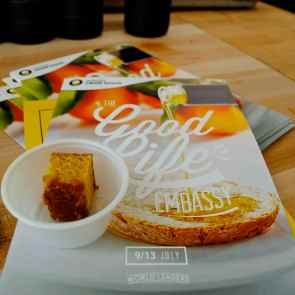 Lemon EVOO Cake