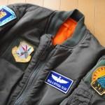 冬物アウター新調 … ALPHA N-3B タイト スリムフィットジャケット