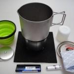 コンパクト湯沸かしセット