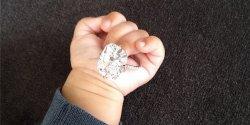 Small Of Kim Kardashian Engagement Ring