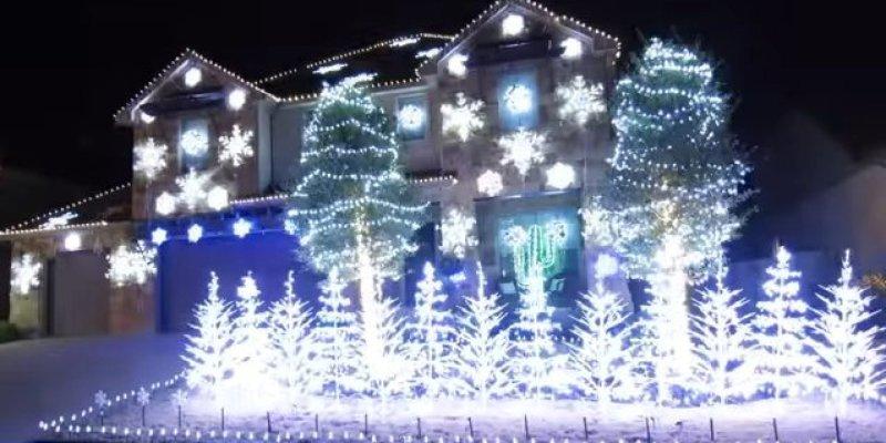 Large Of White Laser Christmas Lights