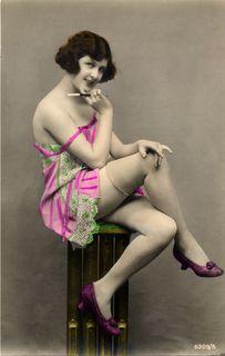 vintage nude woman examination