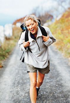 woman hiking - Googl
