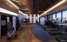 modern fitness centr