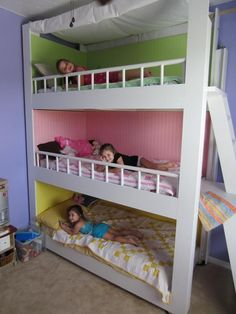 make cheap loft bed