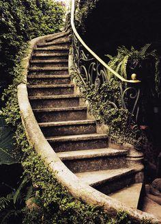 Garden stair More