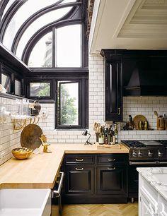 Kitchen Inspiration: Nate Berkus and Jeremiah Brent's kitchen via Architectural Digest | Scotch and Nonsense