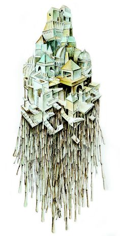Calvino's Invisible Cities, Zenobia art