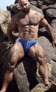 hung speedo bulge
