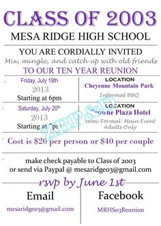 college reunion invitation letter Invitationsweddorg