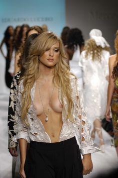 nude runway models