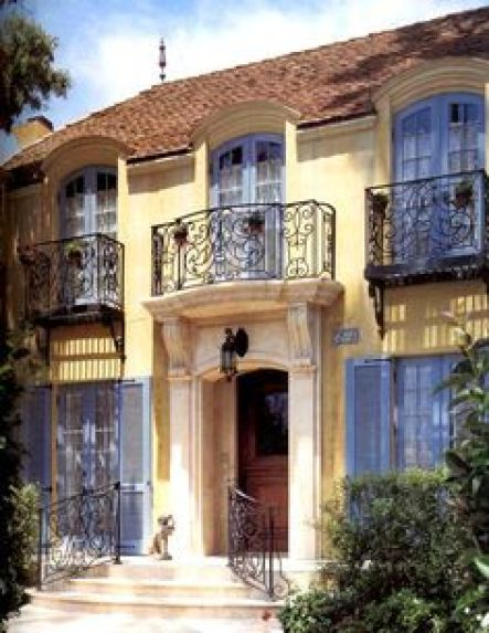 In search of character french country style for French manor homes